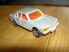 Majorette nr. 249  Mercedes 450 SE W116 silber 1:60 Modellauto