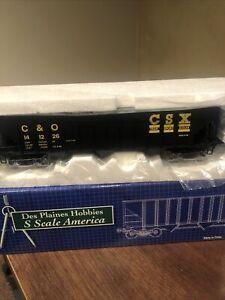S Scale Des Plaines Hobbies DPS1505 C&O-CSX Hopper #141226 Scale