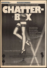 CHATTER-BOX__Original 1976 Trade AD promo / poster__CANDICE RIALSON__Chatterbox