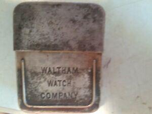 Waltham Watch Salesman Pocket Watch Box, Box Only