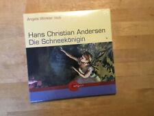 Hans Christian Andersen, - Die Schneekönigin [2 CD Album] NEU OVP Angela Winkler