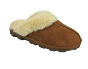 Secret Treasures Women's Brown Genuine Leather Rugged Clog Slippers Shoes: 11-12