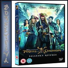 Pirates of The Caribbean Salazars Revenge DVD 2017 Region 2