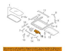 SUBARU OEM 11-14 Outback-Sunroof Motor 65450AJ01A