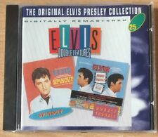 Original Elvis Presley Collection 25 - Spinout + Double Trouble MINT CD FASTPOST