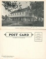 BYBERRY PA FRIENDS' MEETING HOUSE UNDIVIDED ANTIQUE POSTCARD