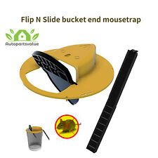 Flip N Slide Bucket Lid Mouses Trap Automatic Mouse Trap 5 Gal Bucket Compatible