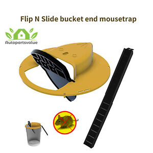 Flip N Slide Bucket Lid Mouse Trap Automatic Mouse Trap 5 Gal Bucket Compatible