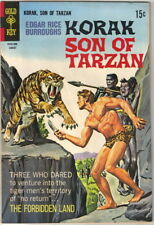 Korak Son of Tarzan Comic Book #24 Gold Key Comics 1968 FINE+