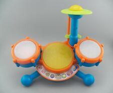 Vtech KidiBeats Drum Set Kids Music Toy Toddlers NO Drumsticks Tested Works GUC