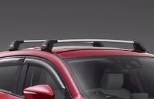 MAZDA CX3 ROOF RACKS 75kgs New Genuine 2015- accessories