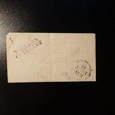 FRANCE MARQUE POSTALE LETTRE COVER P2P VILLERS COTTERETS 1831 36x16 DATEUR A