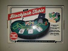 Desktop Mini Blackjack Table Brand New vintage Game Board. BRAND NEW!!!!