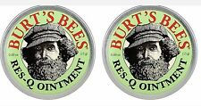 Burt's Bees Res-Q Ointment 0.6 oz (Pack of 2) New