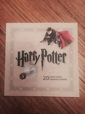 RARE USPS HARRY POTTER STAMP BOOK 20 FOREVER STAMPS-COLLECTOR'S ITEM-NEW