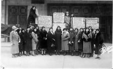 Photo. 1932. Switzerland. British WILPF - Rosa Manus - Disarmament petition
