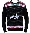 NUEVO Navidad Jersey Grosero Gracioso Hombre Mujer Novedad Suéter De Punto