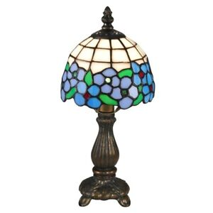 Dale Tiffany Daisy Accent Lamp, Antique Brass - TA15089