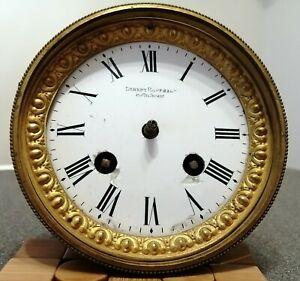 Schönes altes Uhrwerk von Hoflieferant Robert Hoffmann