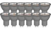 12er-PACK OSRAM LED BASE PAR16 GU10 LED Strahler 4.7W=50W 36° 2700K