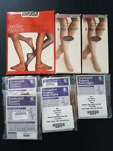 Size Medium NEW FootSmart U Diabetic Ultra Crew Black Socks W 8.5-11, M 6-10