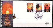 BLANCO FDC ARUBA NR. 119 ZONSONDERGANG 31.5.2006