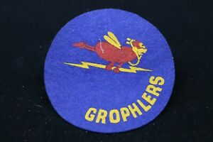 WW2 USAAF Air Force Grophlers Squadron Patch Unknown Unit