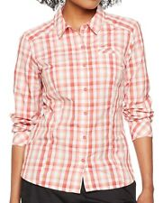 The North Face Zion Women's Outdoor Check Shirt Cayenne Red Medium
