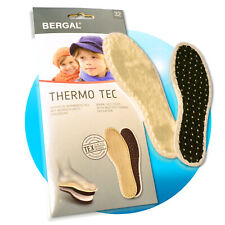 Bergal Thermo Tec Kinder Wintersohlen warme Einlegesohlen Thermosohlen 27-32