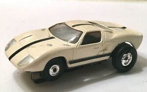 "Vintage 1960's Aurora Ford GT ""T-Jet"" HO Scale Slot Car Original And Very Nice!"