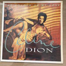 Celine Dion - The Colour Of My Love Korea LP Vinyl With Korean Insert 1993