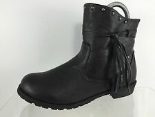 Kenneth Cole Reaction Womens Black Ankle Boots 5 M