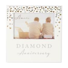 60th Diamond Wedding Anniversary Gift Photo Frame WG92960