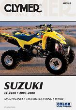 Suzuki LTZ400 LT-Z400 ATV Quad 2003-2008 Clymer Manual M270-2 Nuevo
