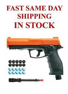 Umarex T4E P2P HDP .50 Pepper CO2 Air Pistol with 10 Powder and 10 Rubber Balls