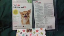 DOG MD ADVANCED 2 MAXIMUM DEFENSE FOR SMALL DOGS 3-10 LBS. A 6 MONTHS SUPPLY NEW