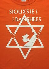 Siouxsie and the Banshees star orange  dead stock shirt sale adult Large