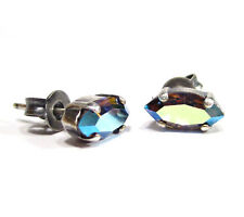 SoHo® Ohrstecker Ohrringe vintage navette marquise Kristalle starlight aurora