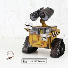WALL-E Robot Money Box Coin Piggy Bank Handmade Toy Metal Model Home Decoration