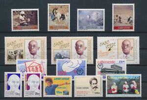 LN70358 Cape Verde mixed thematics nice lot of good stamps MNH