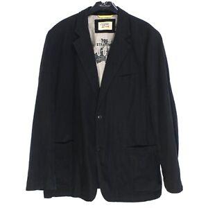 CAMEL ACTIVE Men's Blazer Jacket Size 2XL IT54 US UK 44 Linen Cotton sv4430
