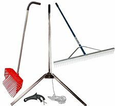 Lake & Pond Seaweed Cutter/Rake/Pitch Fork Combo Kit for Aquatic Weed Control