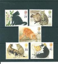 Cats British Commemorative Stamps (1990s)