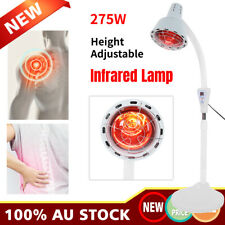 275w Floor Stand Infrared Lamp IR Temperature Therapy Heat Light Pain Relief AU