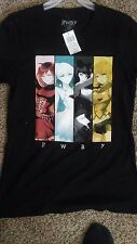 RWBY Anime Group picture Women's large T-shirt (NEW)