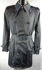 AQUASCUTUM Navy  Double Breasted AQUAMAC Packable Trench Rain Coat 46 BNWT UK