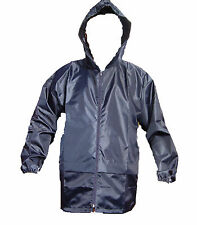 SHOWERPROOF WINDPROOF RAIN COAT JACKET CAGOOL  BIG SIZE 3XL 4XL 5XL NEW FULL FIT