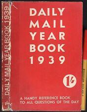 WW2 300+pg 1939 DAILY MAIL YEARBOOK Hitler Chamberlain