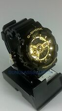 New & Cheap: New G-SHOCK GA110GB-1A CASIO XL BLACK W/ GOLD WATCH