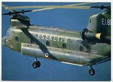 AVIAZIONE ESERCITO elicottero CH 47 cartolina ufficiale LEGGI DESCRIZION NV RARA